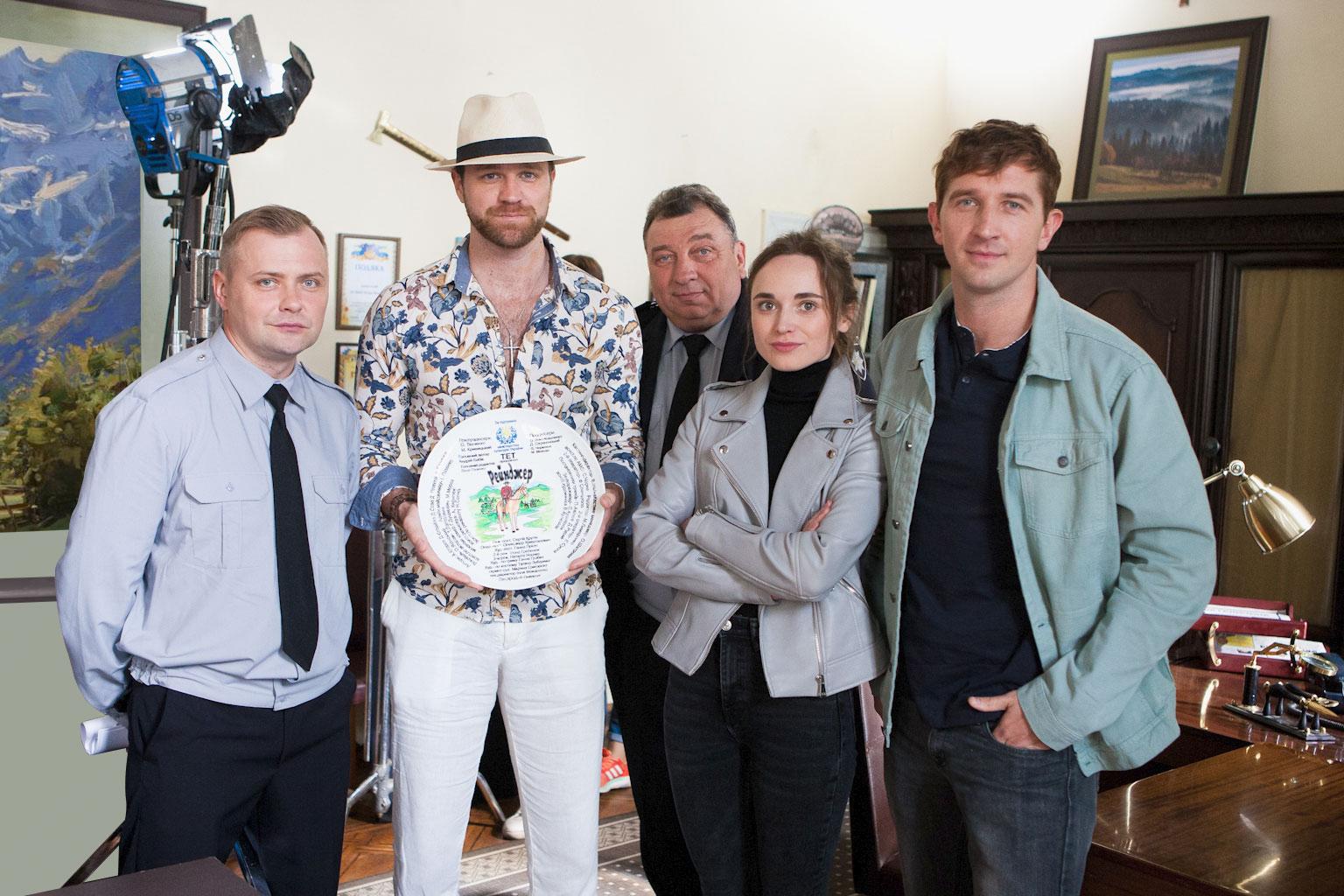 Дмитрий Сова и Артемий Егоров в сериале