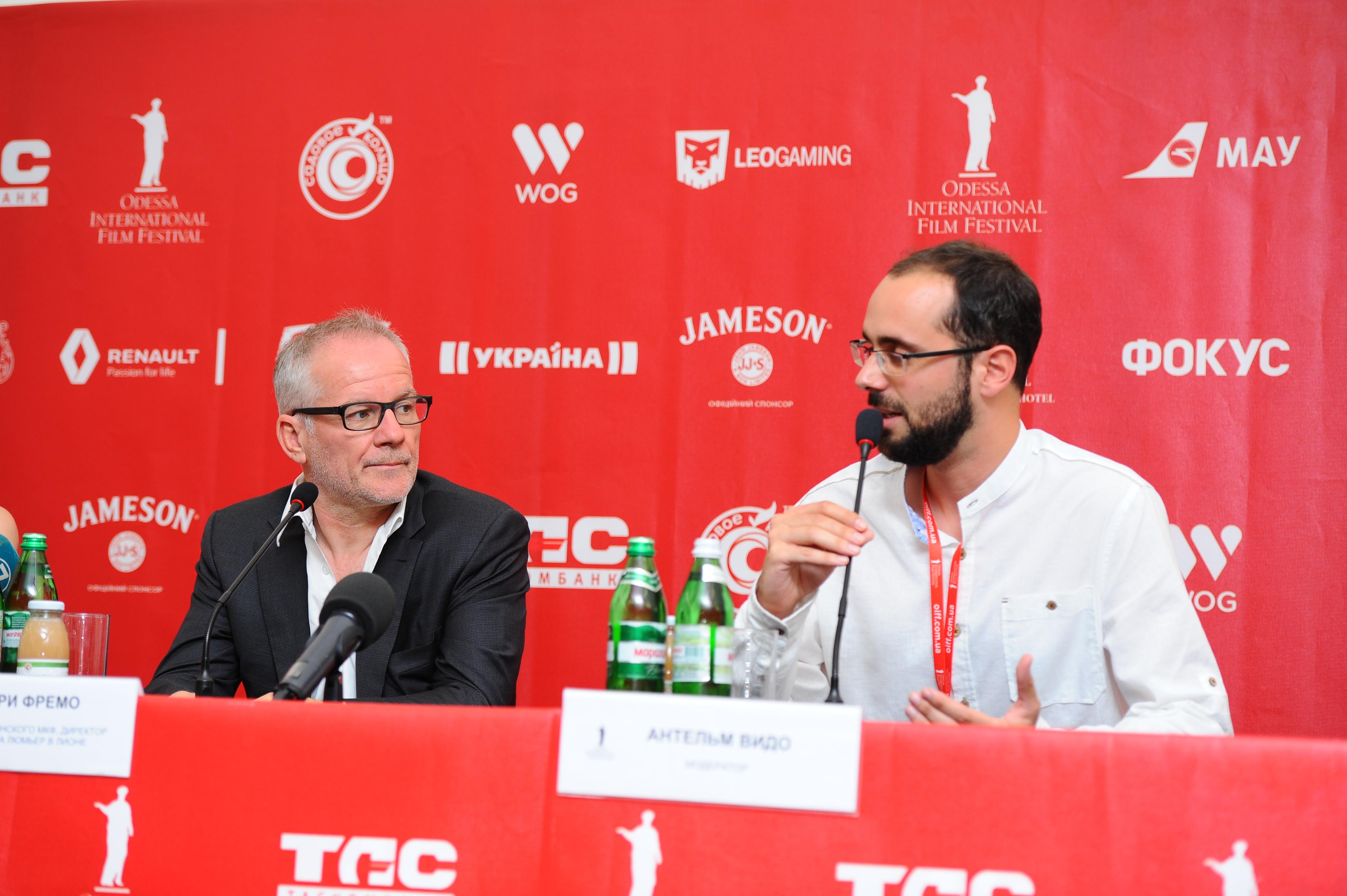 Пресс-конференция с Тьерри Фремо
