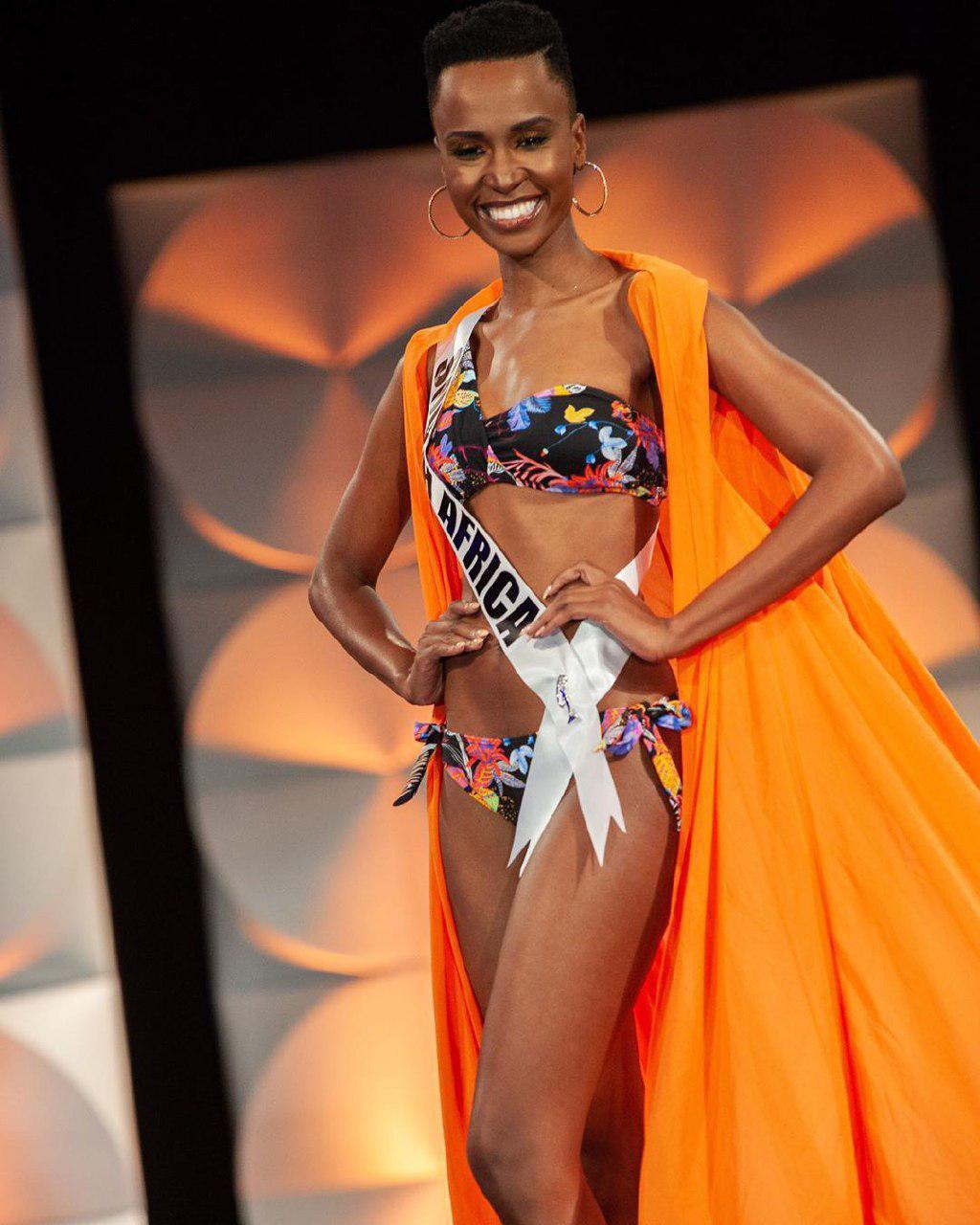 Победительница Мисс Вселенная 2019 - Зозибини Тунзи