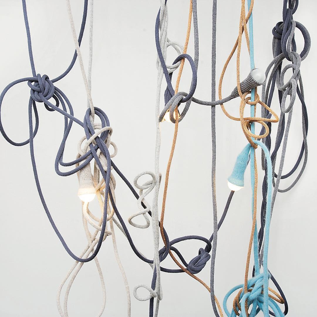 Вязанные оплетки для лампочек