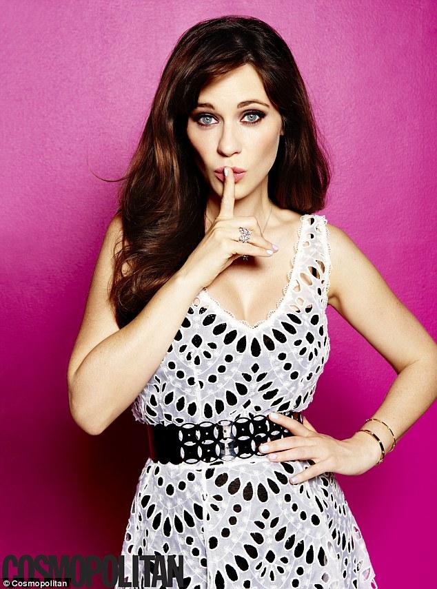Зоуи Дешанель снялась в фотосессии для журнала Cosmopolitan