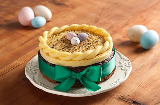 Пасхальный торт Симнель