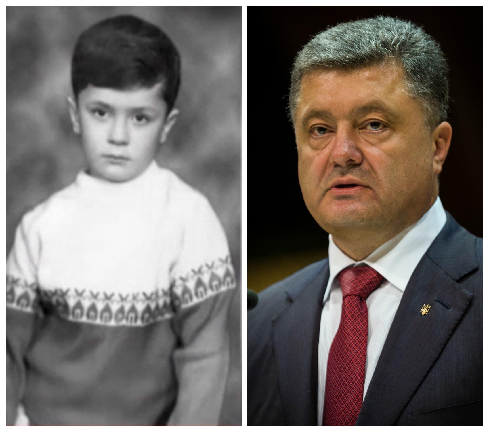 День рождения Президента: смотри ТОП-8 архивных фото молодого Порошенко