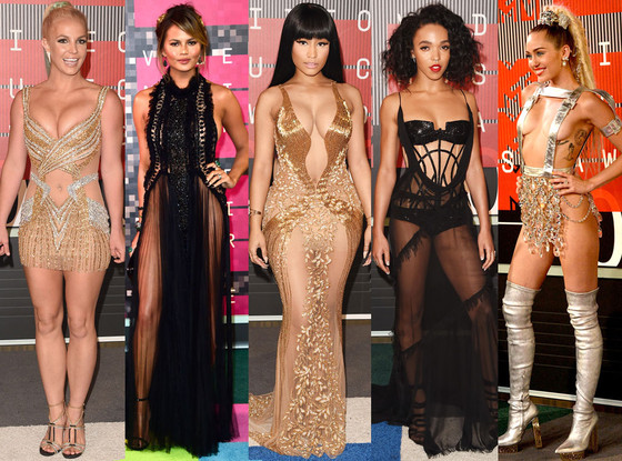 Самые сексуальные образы на MTV Video Music Awards 2015