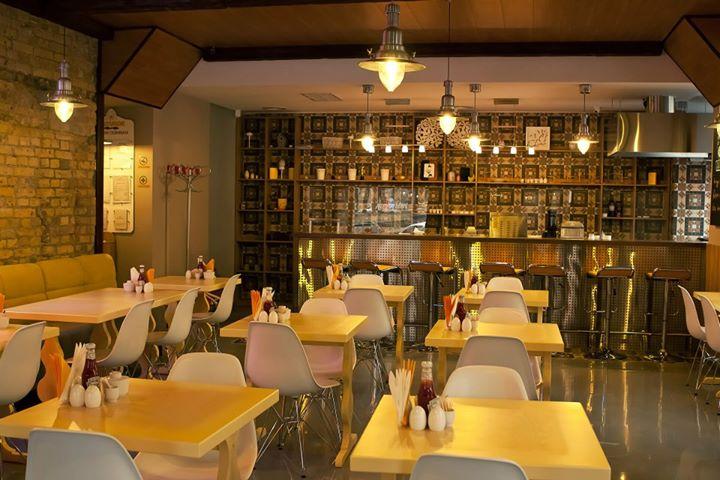 Где позавтракать в Киеве: Ресторан Желток