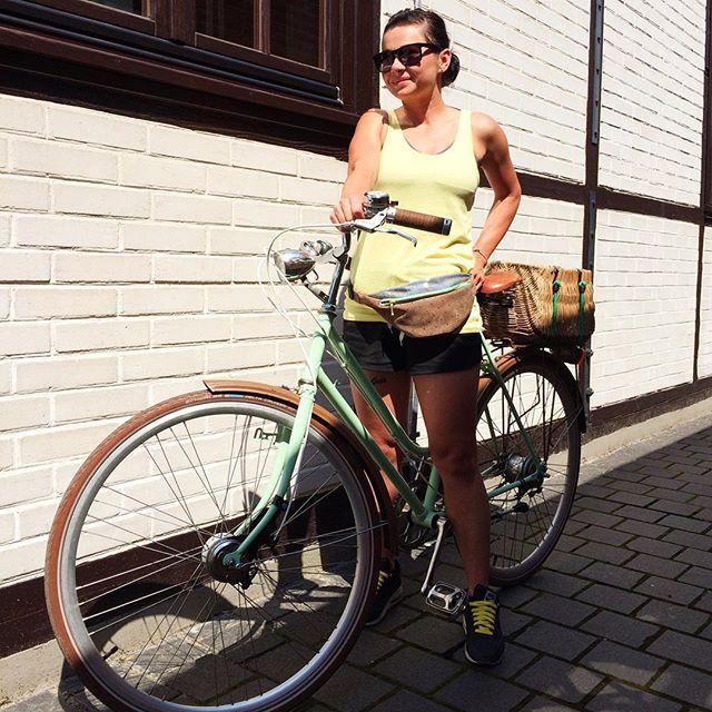 Возьми сумку-карман на прогулку с велосипедом