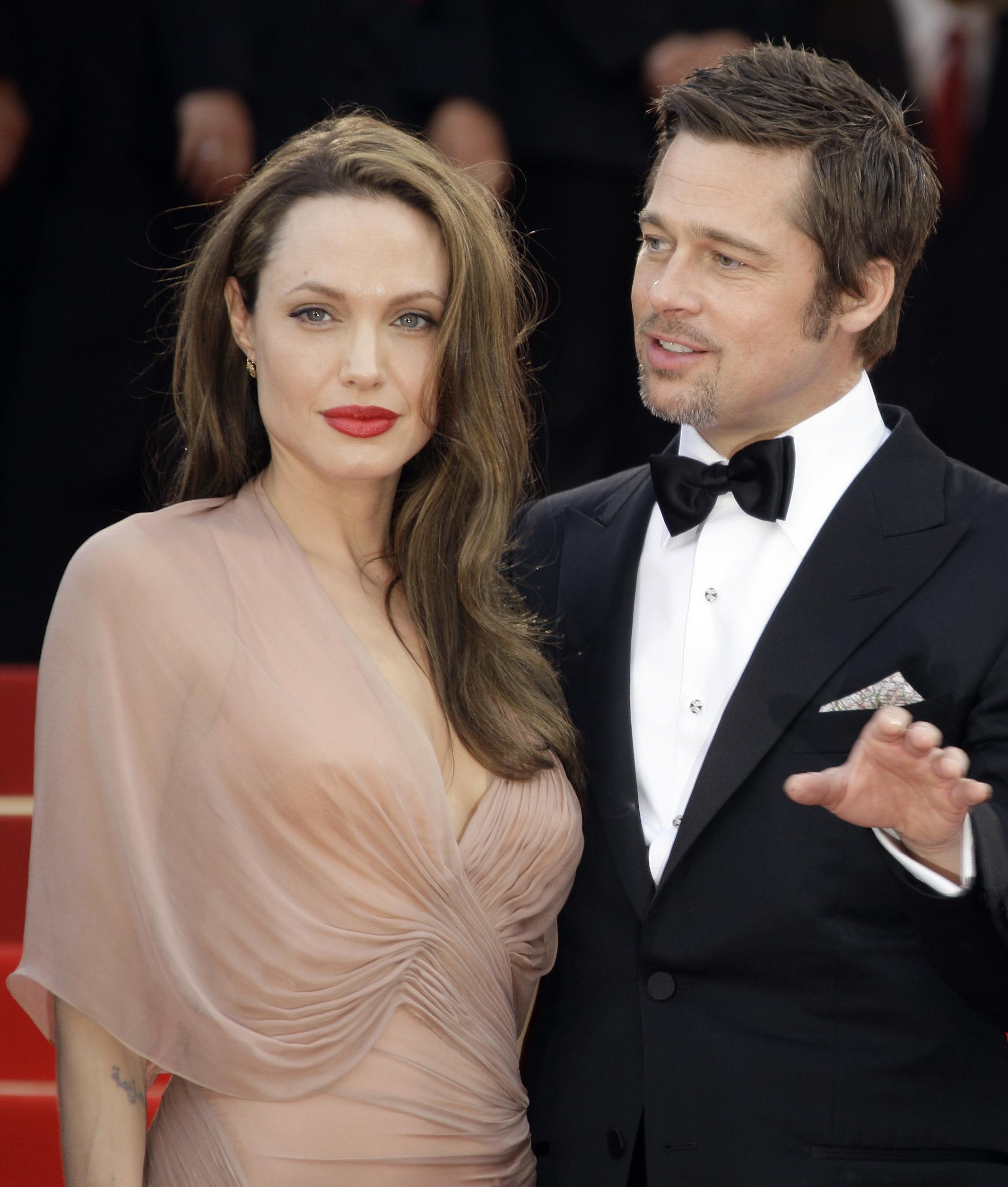 Джоли и брэда питт мистер и миссис