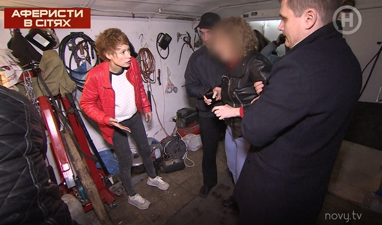 Елену-Кристину Лебедь закрыли в гараже и не хотели выпускать