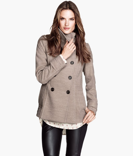 Алессандра Амбросио снялась для сентябрьского лукбука H&M