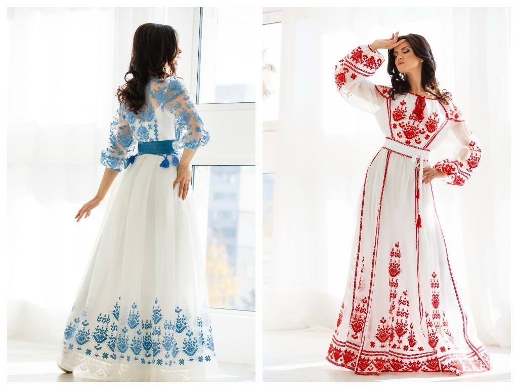 Особо экстравагантные невесты не откажутся и от платья ярких цветов