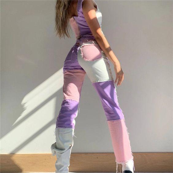Тренд сезона: цветные джинсы вместо скучных синих