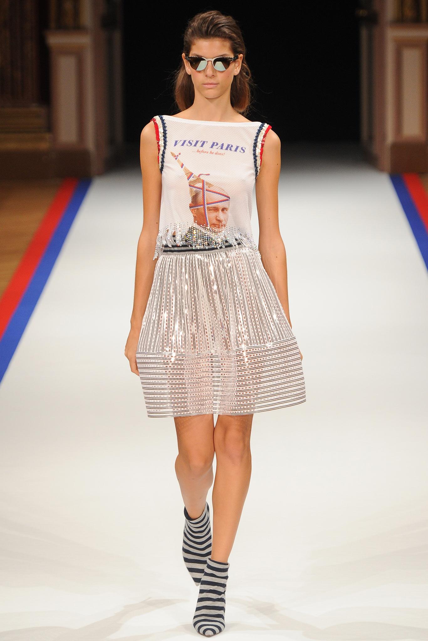 Мода не может абстрагироваться  от политических событий, уверены дизайнеры