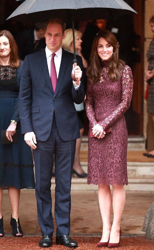 Принц Уильям и Кейт Миддлтон провели экскурсию президенту Китая и его супруге