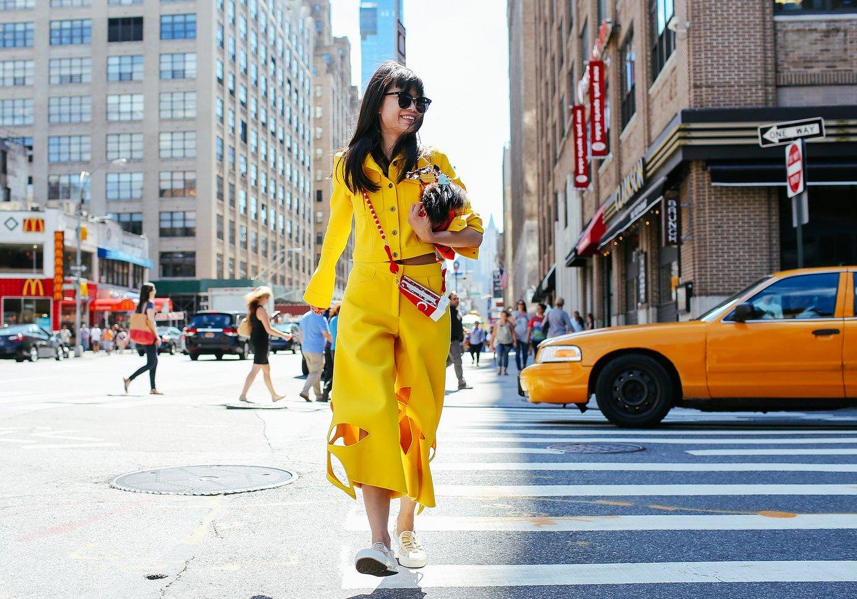 Самые яркие образы гостей с Недели моды в Нью-Йорке