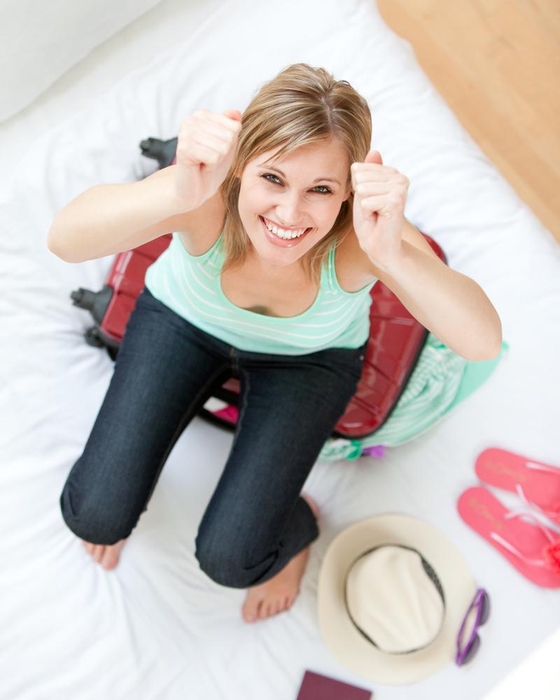 При правильном подходе в твой чемодан поместится все необходимое