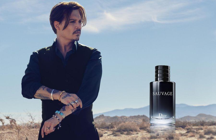 Джонни Депп в новой рекламной кампании Dior