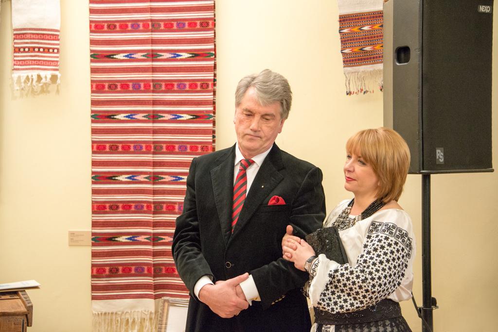 Катерина Ющенко является поклонницей украинской моды
