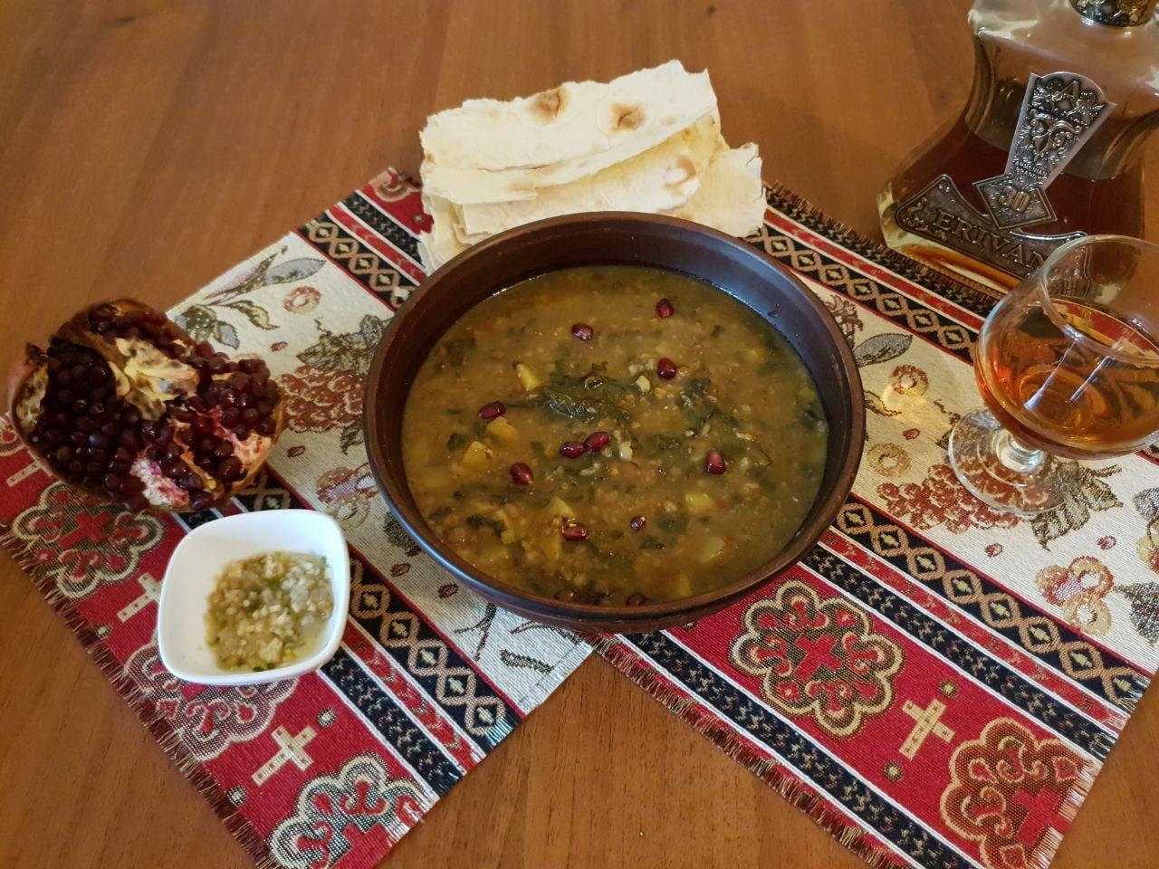 Суп с конским щавелем