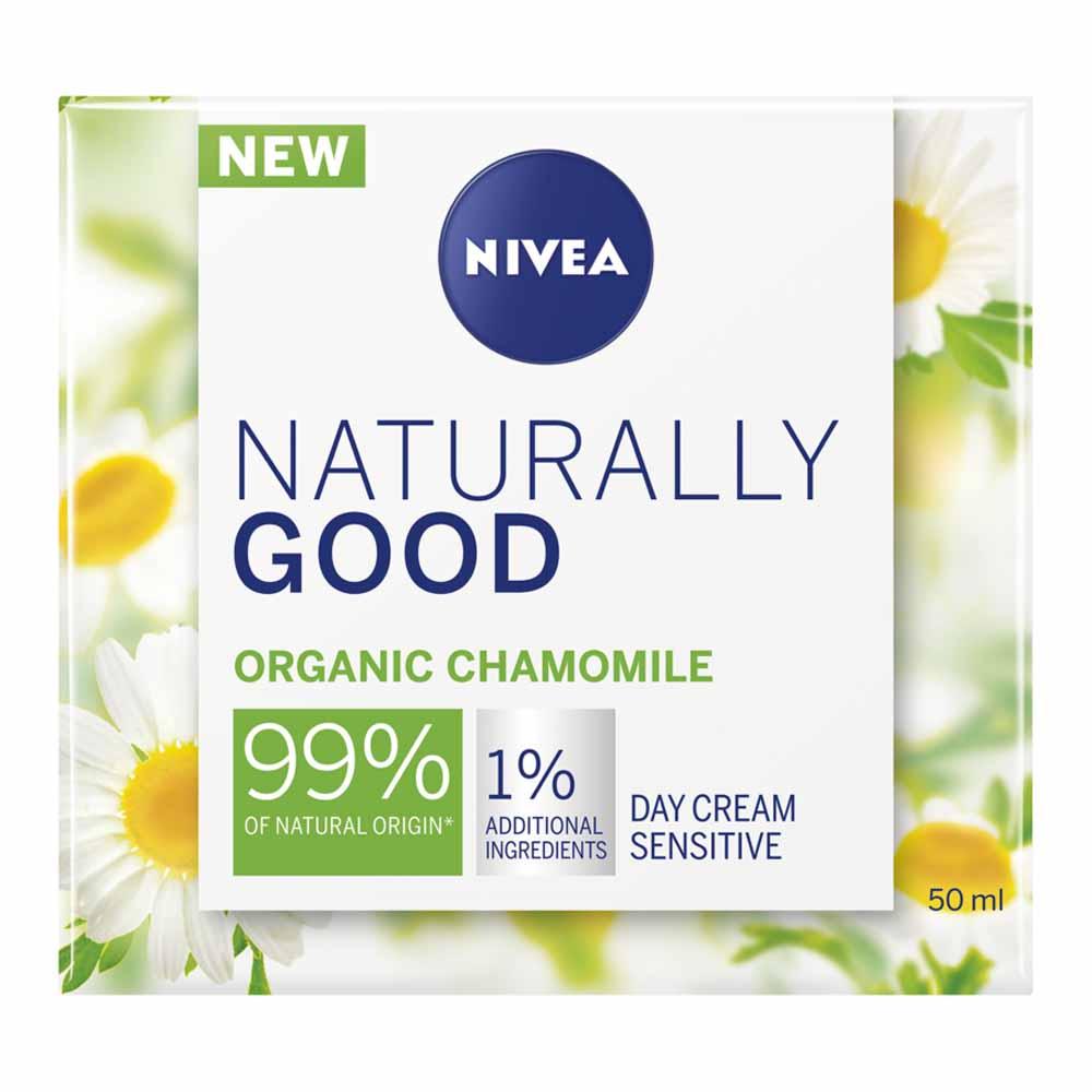 Nivea, Narurally Good, Дневной крем с органичной ромашкой