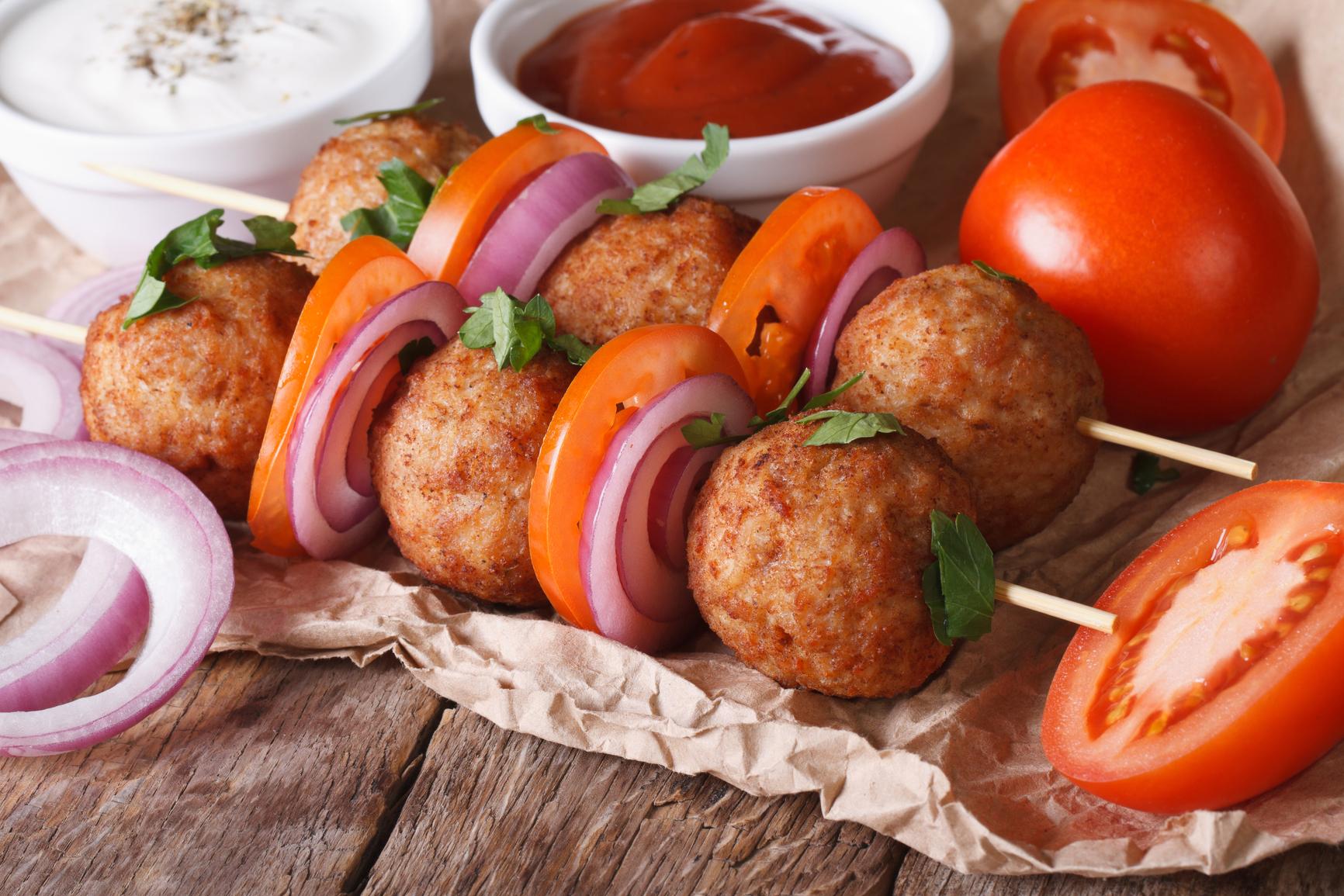 Блюдо для пикника рецепт