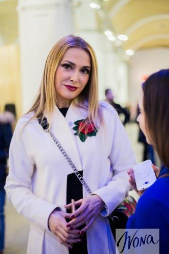 Ольга Сумская после показа Алексея Залевского