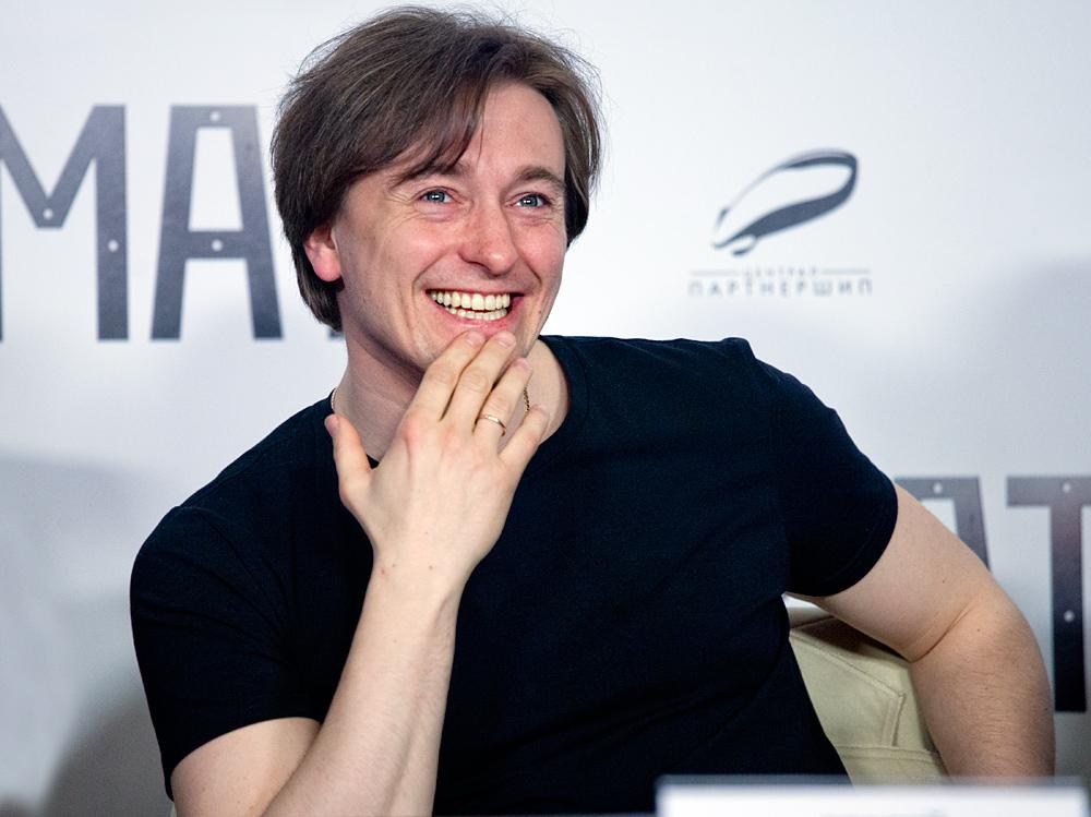 Актер Сергей Безруков