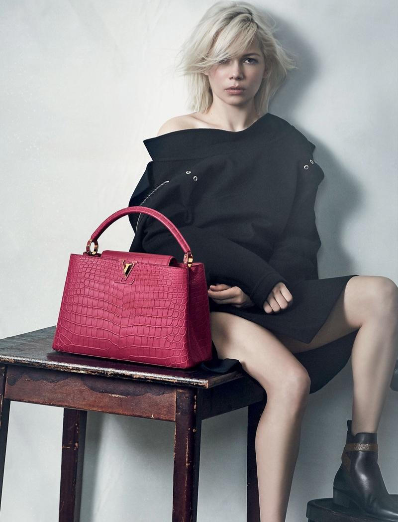 fcaa3208fac9 Мишель Уильямс снялась в рекламе сумок Louis Vuitton - IVONA bigmir)net