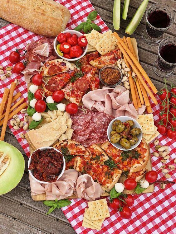 Пикник в итальянском стиле