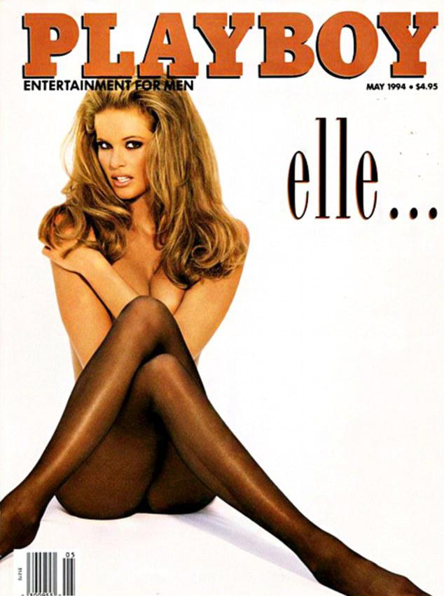 30-летняя Эль Макферсон на соблазнительной обложке Playboy  в 1994 году