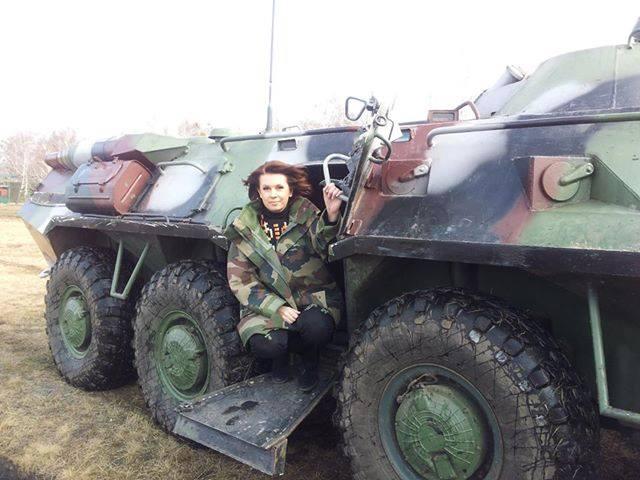 Алла Мазур мечтает, чтобы скорей закончилась война в Украине