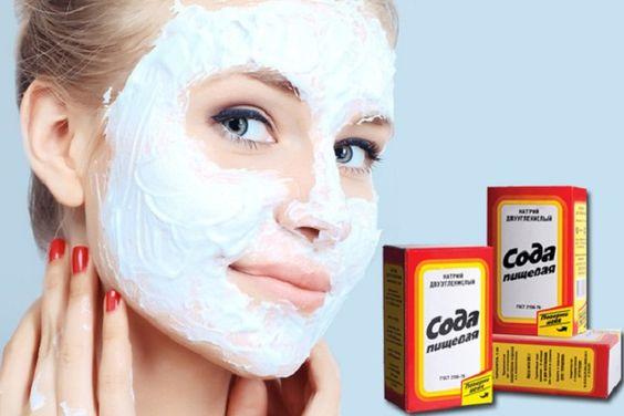 Содовая маска - средство избавления от расширенных пор