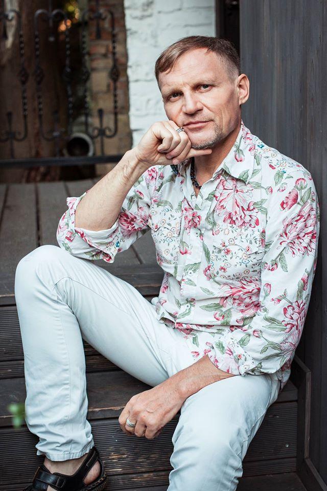 Украинский музыкант Олег Скрипка