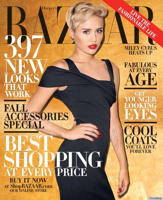 Певица Майли Сайрус оказалась слишком скандальной для Vogue