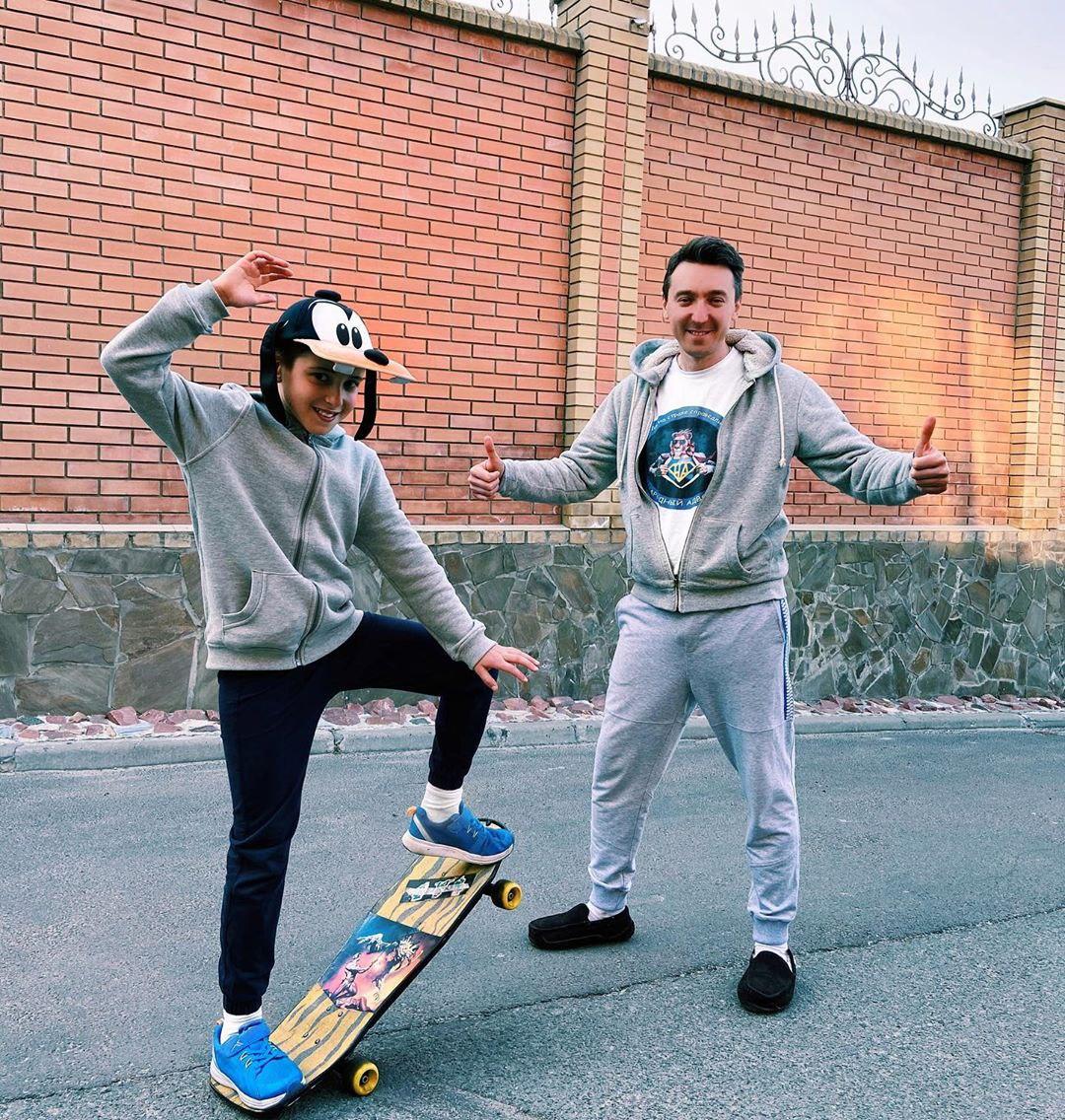 #татонакарантині: Михаил Присяжнюк поделился лайфхаками, чем занять детей на карантине