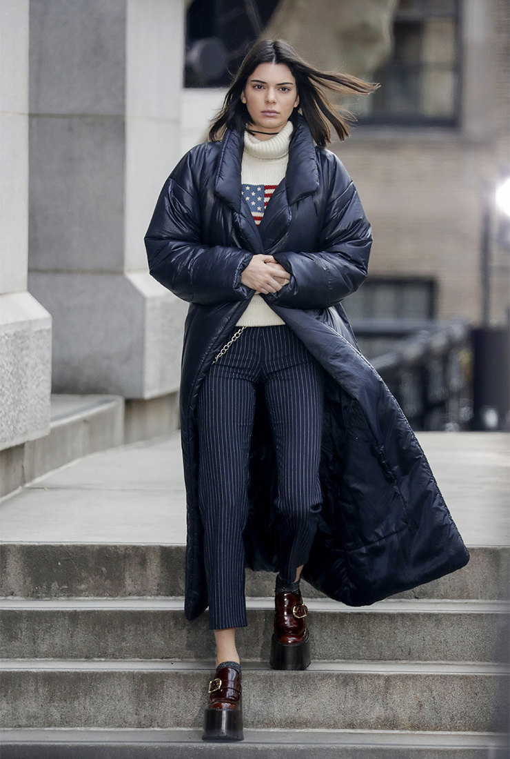 Стильная верхняя одежда на зиму 2019-2020: пуховик