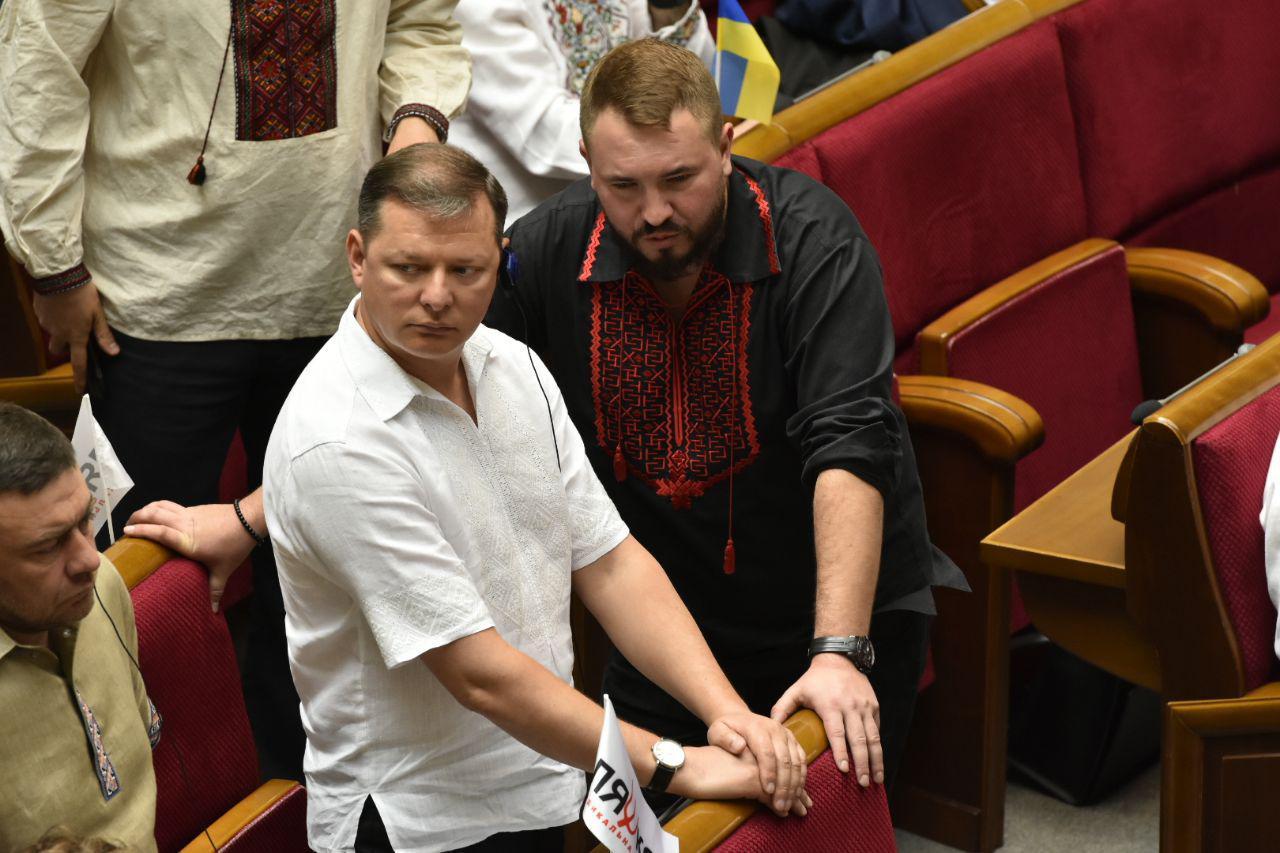 Олег Ляшко и Андрей Лозовой, фото: Аркадий Манн,