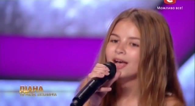 Шоу Х-фактор 6, Диана исполнила песню Нино Катамадзе