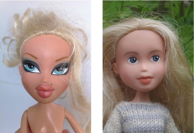 Куклы без макияжа: Новый социальный проект из Австралии