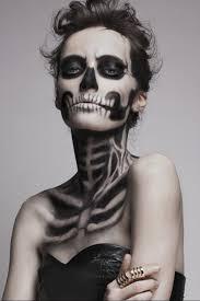 Идея грима на Хэллоуин