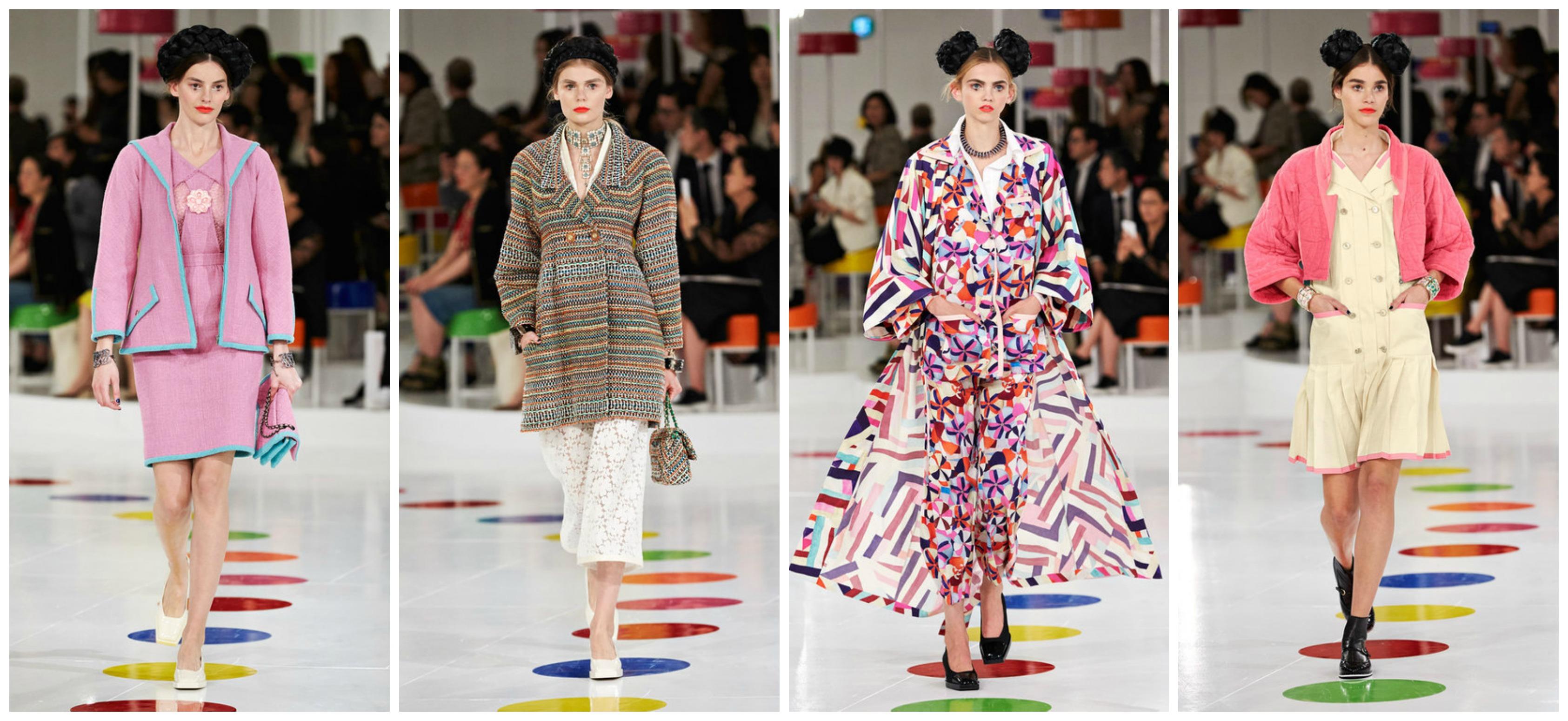 В Сеуле прошел показ круизной коллекции Chanel