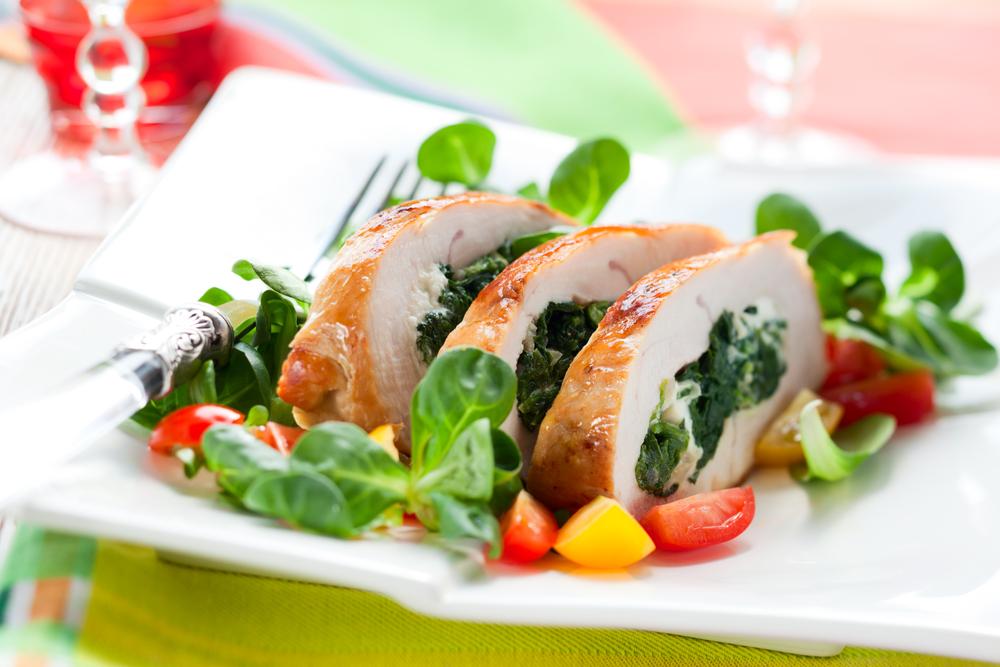 Салат с грибами  russianfoodcom