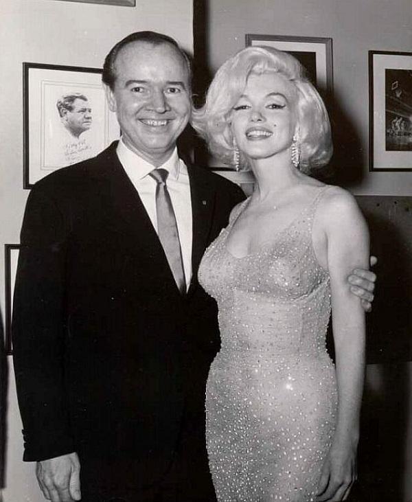 Мэрилин Монро, празднования Дня рождения Джона Кеннеди, 1962 год