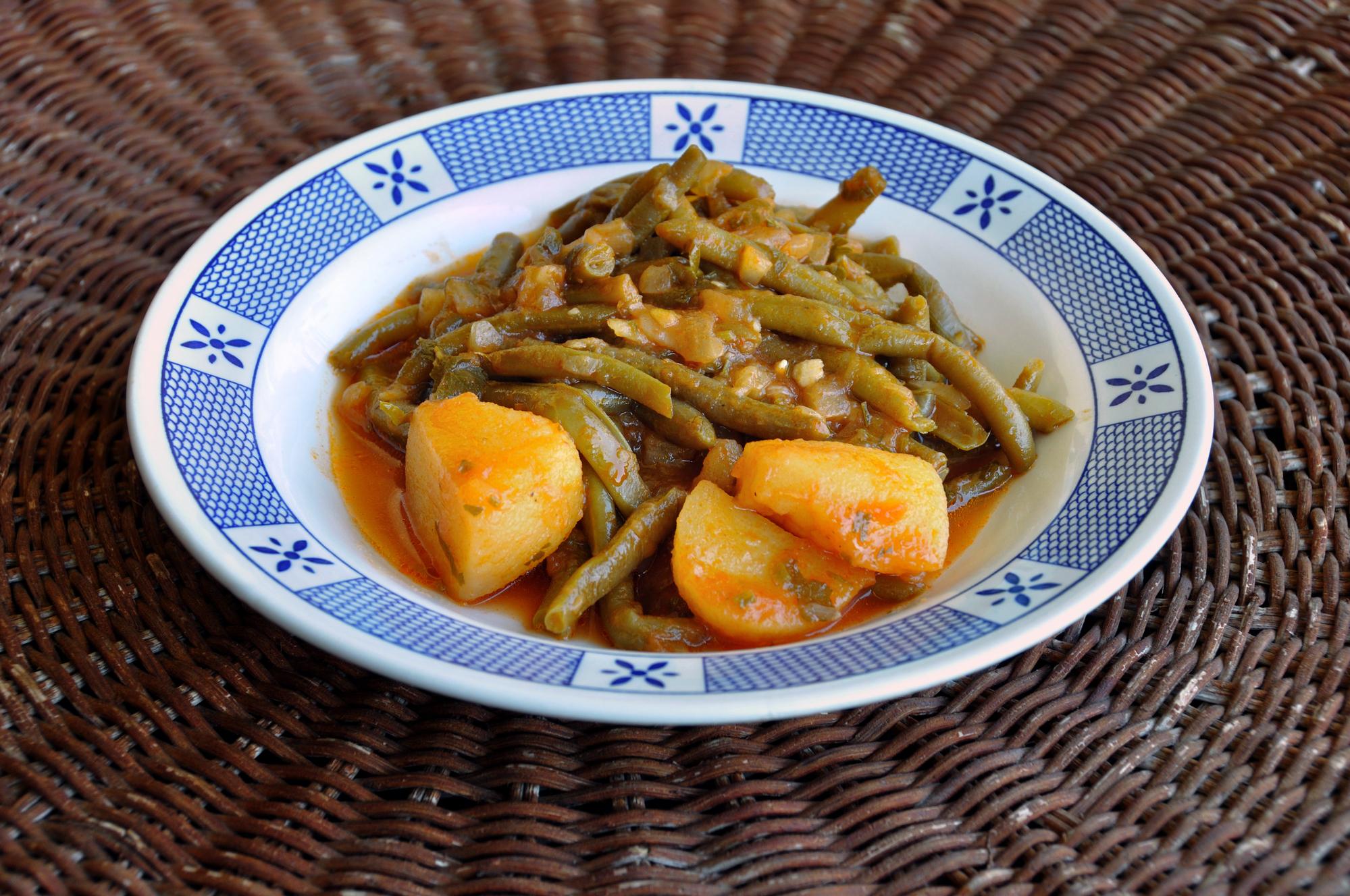 Зеленая фасоль с картофелем: пошаговый рецепт блюда