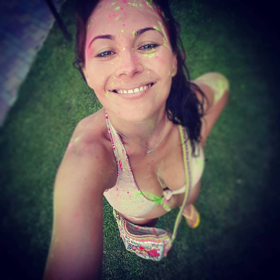 Даша Малахова в отпуске