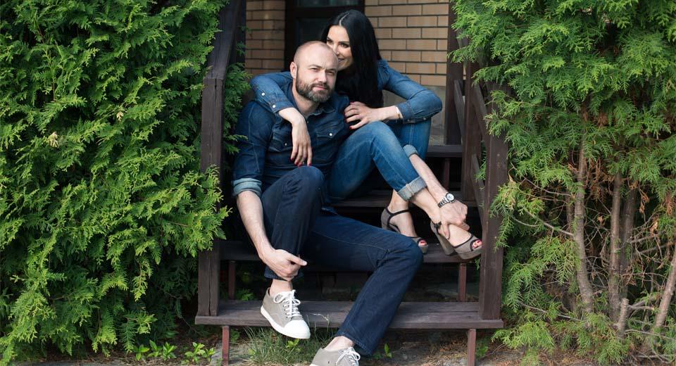 Маша Ефросинина с мужем Тимуром Хромаевым