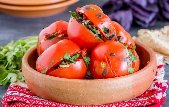 Помидоры по-армянски: как приготовить закуску