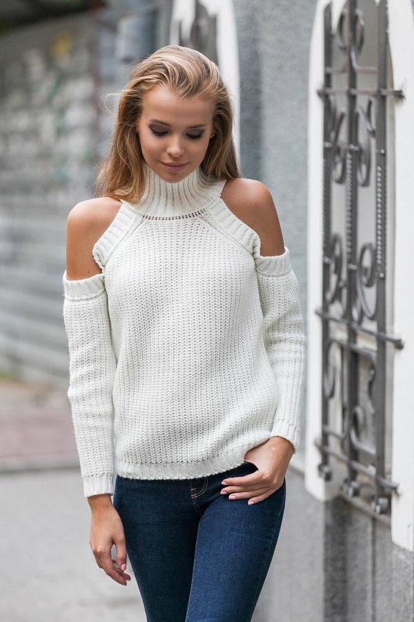 Неактуальные модели свитеров зимой 2019/20: с перфорациями