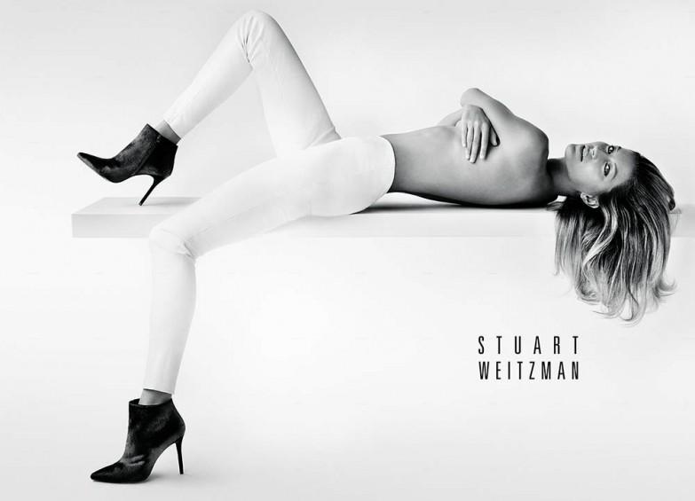 Бразильская модель снялась в рекламе Stuart Weitzman