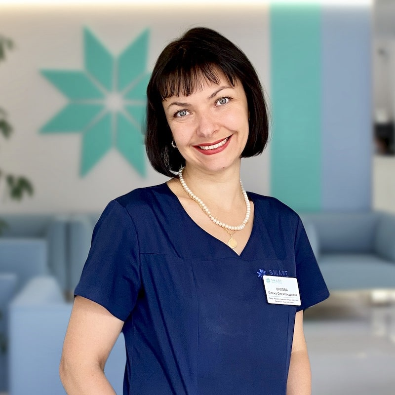 Врач акушер-гинеколог Елена Орлова