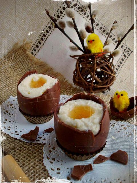 Шоколадные пасхальные яйца с кремовой начинкой: актуальный рецепт
